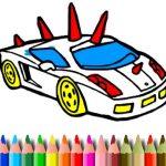 BTS GTA Automobiles Coloring