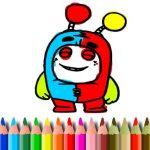 BTS OddBods Coloring Information
