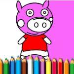 BTS Pig Coloring Sport