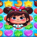 Sweet Cookie Rush Match 3 Candy Legend bomb fever