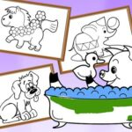 Cartoon Coloring for Youngsters – Animals