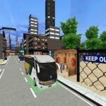 Metropolis Coach Bus Passenger Driving :Bus Parking 2021