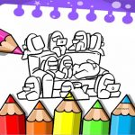Coloring E-book for Amongst Us
