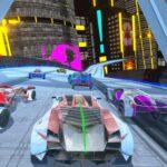 Cyber Automobiles Punk Racing