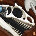 Dinosaur bone digging Sport