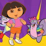 Dora Coloring E book