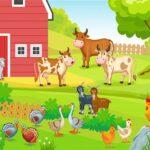 FARM ANIMALS PUZZLES CHALLENGE