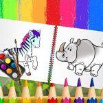 Humorous Animals Coloring E e book