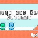 Inexperienced and Blue Cuteman