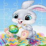 Completely satisfied Easter Jigsaw