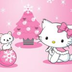 Hiya Kitty Christmas Jigsaw Puzzle