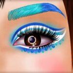 Unbelievable Princess Eye Artwork