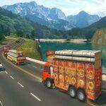 Indian Cargo Truck Gwadar Port Recreation