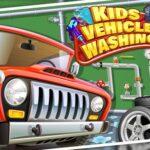 Children Automotive Wash Storage for Boys
