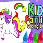Youngsters Finger Portray Coloring