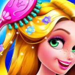 Lengthy Hair Princess Hair Salon