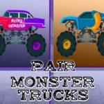 Monster Vehicles Pair