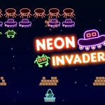 Neon Invaders Traditional