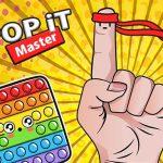 Pop it Grasp – antistress toys calm video games