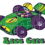 Race Vehicles Jigsaw