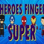 Tremendous Heroes Finger