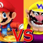 Tremendous Mario vs Wario