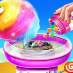 Candy Cotton Sweet Store: Sweet Cooking Maker Recreation