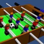 Desk Soccer, Soccer