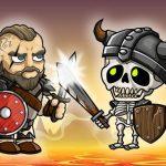 Vikings VS Skeletons Sport