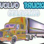 Volvo Vans Coloring