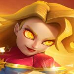 surprise girl of Superheroes – Empires Cellular